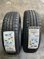 X2 Continental Tyres 155 60 15