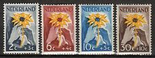 Netherlands - 1949 Aid for the dutch Indies - Mi. 521-24 MNH