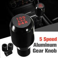 Universal MT Manual 5 Speed Car Gear Stick Shift Knob Shifter JDM Aluminum AU