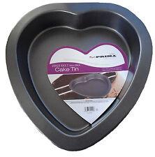Heart Shaped Cake Tin Mould Non Stick. 18x19cms Prima
