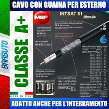 25 MT DI CAVO DA ESTERNO - INTSAT 81 DIAMETRO 5,4 mm MESSI & PAOLONI CLASSE A+