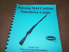 M-44,  Russian Carbine,  Manual, 7.62x54R,  9 Pages