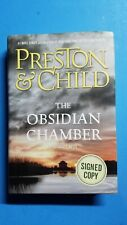 """Preston & Child SIGNED 1st/1st Edition of """"The Obsidian Chamber"""""""