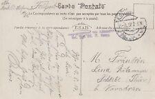 Feldpostkarte von 1917  Foto Antwerpen
