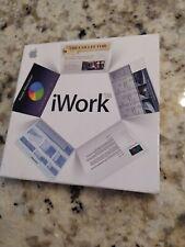 Apple iWork' 08 Office Software Suite Mac Keynote/Pages/Numbers