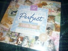 "HUNKYDORY PICTURE PERFECT 8"" X 8"" PAPER PAD LITTLE PAWS 48 PAGES FACTORY SEALED"