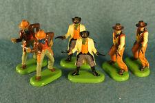 2000's Wild West Britains Cowboys Super Deetail Toy Figures Lot (6)
