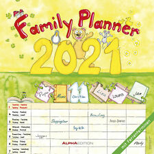 Familienplaner Cartoon 2021