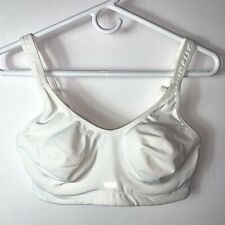 Victoria's Secret Sport VSX Sports Bra White Underwire Adjustable Size 34D
