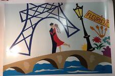 "Pierre Matisse ""Paris Rendez Vous""  Ltd. Ed. Serigraph w/coa"