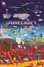 MINECRAFT - WORLD BEYOND POSTER - 22x34 - 15888