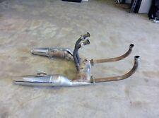 1985 Honda V45 Magna VF700C H1462. exhaust headers mufflers tail pipes