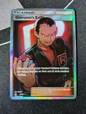 Giovanni's Exile 67/68 Hidden Fates - Pokemon Card Ultra Rare Full Art NM