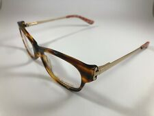 New Tory Burch Eyeglasses TY 2035 1212 Brown Tortoise and Gold 48-16-135