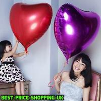 "32"" Large Heart Shape Foil Helium Balloons Wedding Birthday Party Ballons New"