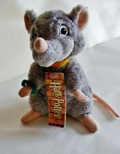 Harry Potter - Ron Weasley's pet rat Scabbers - Plush Toy WITH TAG by Trudi Rare