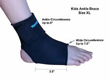 Kids Ankle Brace - Sports Protection, Healing Support- Neoprene - L or R-Size XL
