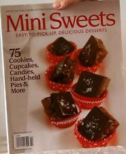 MINI SWEETS Magazine 75 COOKIES, Cup Cakes, CANDIES, Hand-Held PIES & More $13