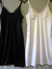 Ladies Full Length Ribbon Strap Underskirt. Size 18-20-22-24-26-28