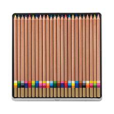 Koh-I-Noor Tri-Tone Pencils, Multicolor Lead, Set of 24