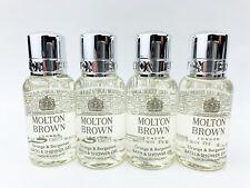 4× New Molton Brown Orange&Bergamot Bath and Shower Gel 30ml