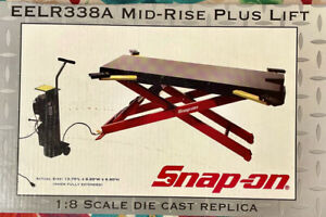 Snap On Tools 1:8 Scale Mid-Rise Plus Lift EELR338A New