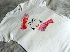 """NEW - RETRO Eighties VOGUE - White - T Shirt - Medium / Up to 40"""" Chest"""