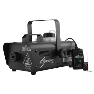 Chauvet DJ Hurricane 1000 1L Pro Fog/Smoke Machine w/ Wired and Wireless Remote