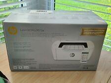 HP - LaserJet Pro M15w Laser Printer - White - Compact, Fast Print Brand New NIB