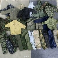 Lot 15pcs GI JOE Soldier 1/6 Custom Clothes Dress for 12'' Dragon BBI Doll Rare