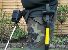 Metal Detecting Draper Mini Pelle/pelle (crochet uniquement) transporter Pelle mains libres. U