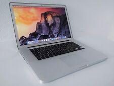 "Apple MacBook Pro 15,4"", i7*2,2GHz, 12GB RAM, 512GB SSD, Auflösung 1680x1050"