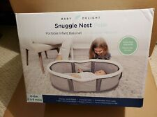 Baby Delight Snuggle Nest Peak- Portable Bassinet (0-6 Months)