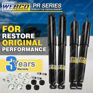 Front Rear Webco Pro Shock Absorbers for FORD COURIER PC PD PE PG PH 2WD Ute