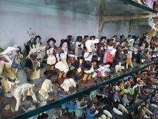 10 pastori fini TERRACOTTA 10 cm pastori nativity scene shepherds crib