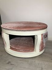 Pet Dog Cat House Bed + Ottoman Shabby Chic French Style Unique Brand New