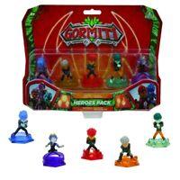 Gormiti Blister Box 5 Figure 5cm Pack Heroes Herald Second Version Original