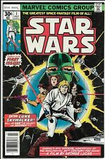 Star Wars Comic No.1 July 1977 Original 30 Cent