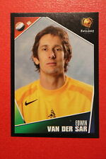 Panini EURO 2004 N. 318 NEDERLAND VAN DER SAR  NEW With BLACK BACK TOPMINT!!