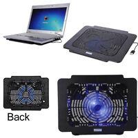 Hot LED Light USB Cooling Big Fan Cooler Pad for Laptop PC Notebook