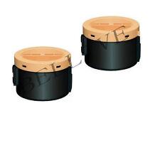 2 X TONER COMPATIBILE PER EPSON Aculaser M1400  MX14  MX14NF 2200PAG BL