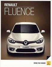 Renault Fluence 01 / 2013 catalogue brochure Poland polonais