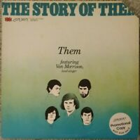 "THEM (VAN MORRISON) ""The Story of Them""   1977 PROMOTIONAL LP    VG"