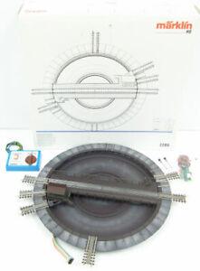 Marklin 7286 HO Scale Remote Control Turntable LN/Box
