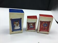 Hallmark - LOT OF (3) - Back To School. 2nd Christmas And Snow Buddies New