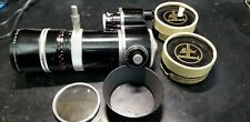 Bolex Kern Vario Switar 18-86mm OE H16RX Zoom lens C-Mount w Close up Diopters