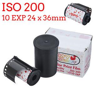 New 35mm Color Print Film 135 Format Camera Lomo Holga Dedicated ISO 20 !