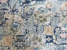 "WtW Fabric Vintage Floral Picture Frame Art Deco Marcus Garden 60"" W Quilt"