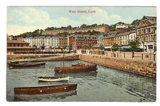 West Beach - Cove Photo Postcard c1910 / Cork