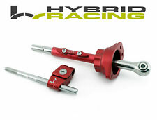 Hybrid Racing Short Shifter Assembly For Honda B18 B16 D16 Civic Integra Crx Red (Fits: Honda)